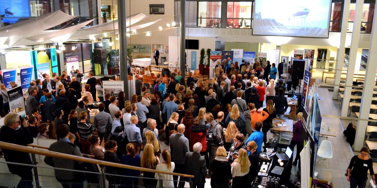 """Over 230 personer møtte opp på """"Tirsdag kveld fra Nydalen"""" høsten 2013."""