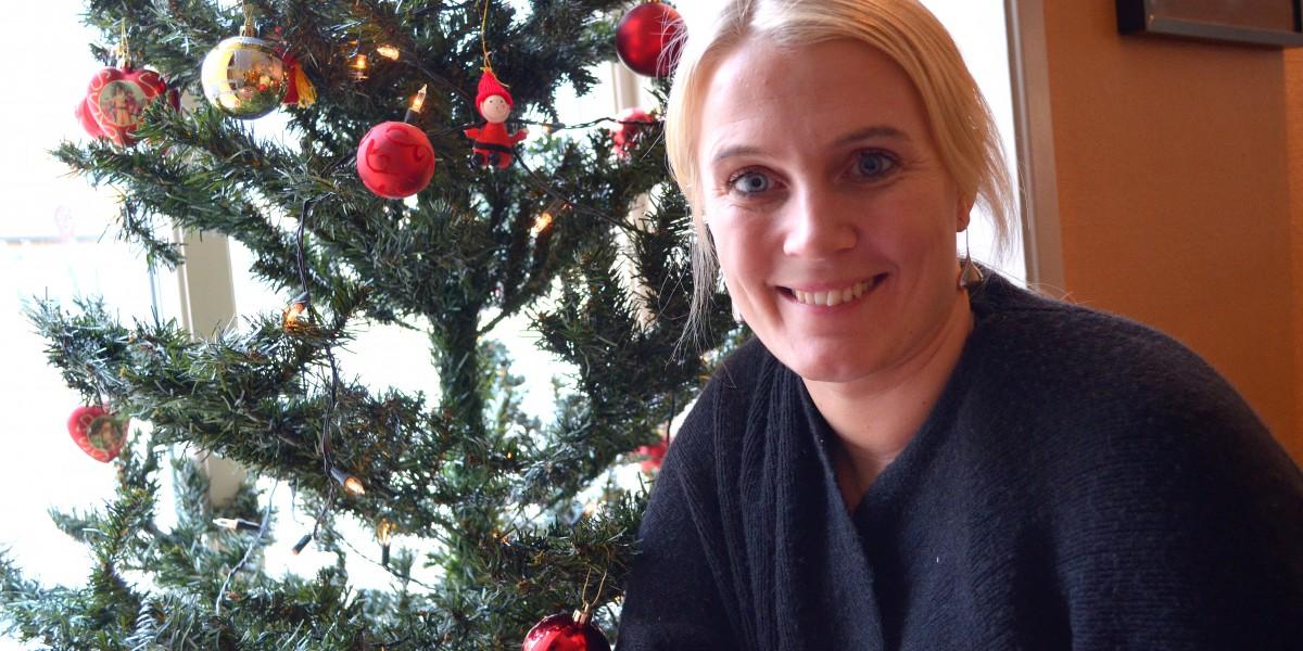 Therese Albrechtson gleder seg til fridager i julen.