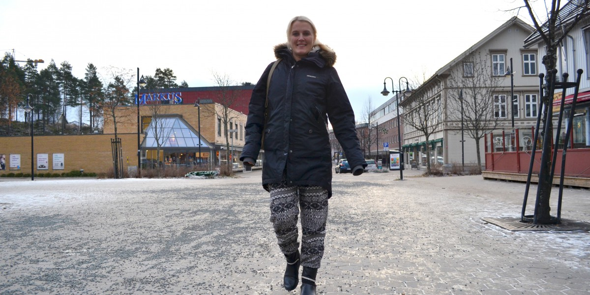 Therese Albrechtson forteller at hun allerede trives veldig godt i Elverumregionen.