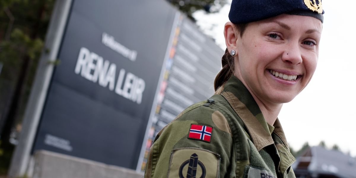 Det var jobben i Forsvaret som trakk Camilla Brevik og familien til Rena. Nå er de en del av lokalsamfunnet. Foto: Karoline Almås Sørensen