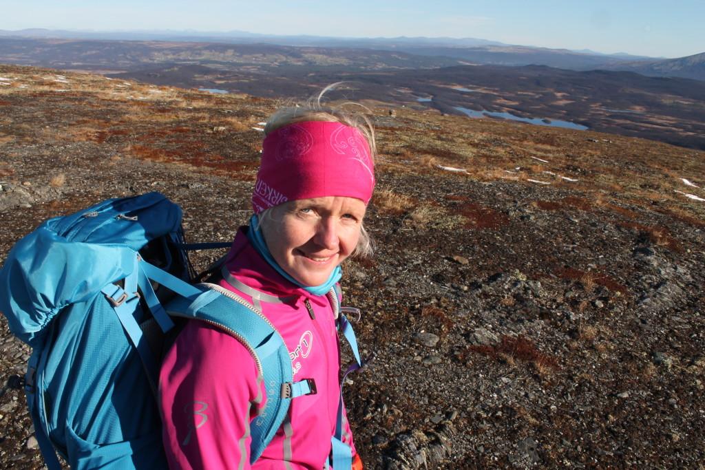 Ragnhild Bolstad synes livet er best ute, og hun tar mer enn gjerne for seg av Elverumregionens vakre natur.