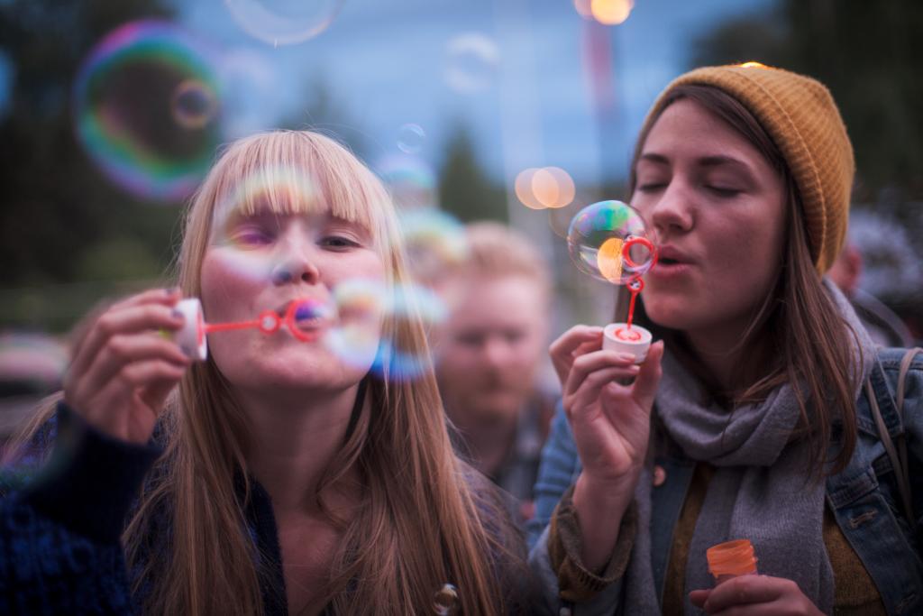 Elverumsjenta Stine Haugen under Volumfestivalen